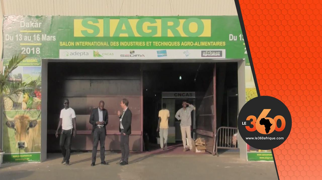 Vid o au siagro l 39 expertise agroalimentaire s n galaise - Salon international de l agroalimentaire ...