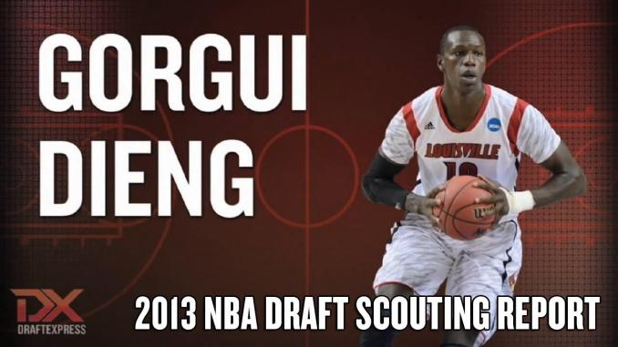 L'international Sénégalais de Basket Gorgui Sy Dieng, pensionnaire des Minnesota Timberwolves