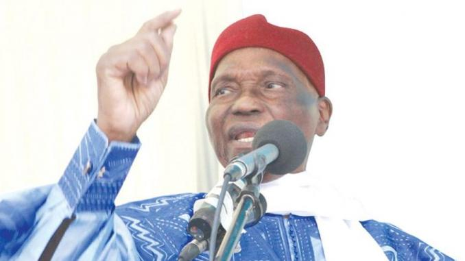 L'ancien President Abdoulaye Wade