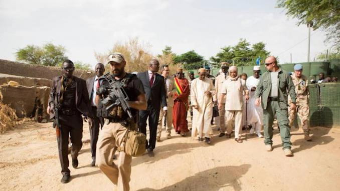 Abdoulaye Idrissa Maiga premier ministre Mahamat Saleh Annadif Chef MINUSMA soldat militaires attaque camp tombouctou