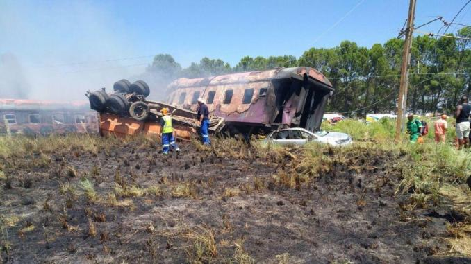 Afrique du sud: un grave accident de train tue 14 personnes