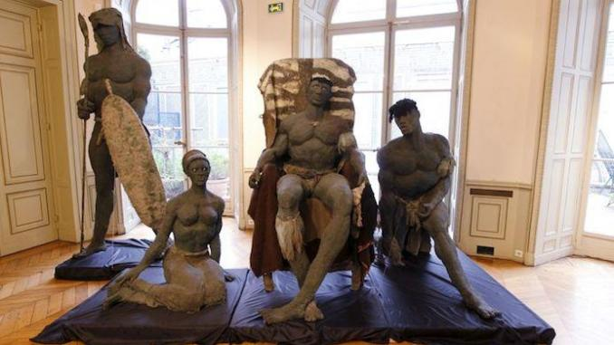 sculptures ousmane sow
