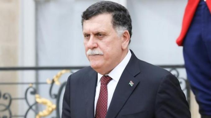 Le chef du gouvernement libyen d'union nationale (GNA), Fayez al-Sarraj,