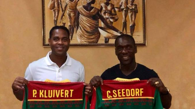 Cameroun-CAN 2019 : Le duo Seedorf-Kluivert s'engage pour quatre ans