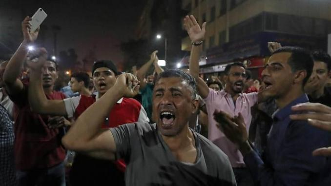 Manifestations en Egypte