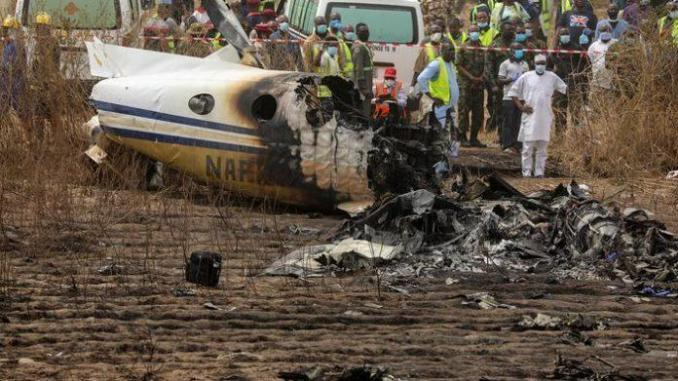 Nigeria: sept morts dans le crash d'un avion militaire