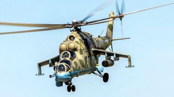 Helicoptere MI-24
