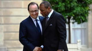 Alpha Condé et Hollande