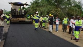 routes travaux Cameroun