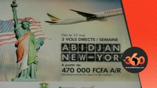Ethiopian airlines Abidjan-New York