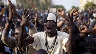 Manifestation au Senegal
