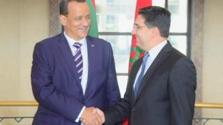Nasser Bourita et Ismail Ould Cheikh Ahmed