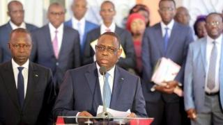Macky Sall et son gouvernement