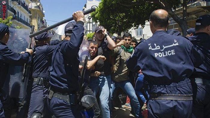 """The electoral mask and repression confirm Algeria's classification of """"dictatorial rule."""""""