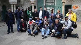 Journalistes africains chan
