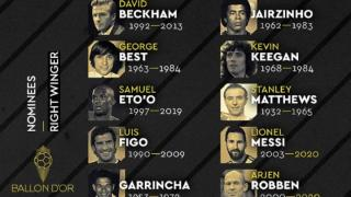 Ballon d'Or Dream Team: Samuel Eto'o tance France Football